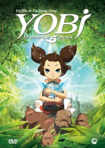 "Poster voor de film ""Yobi, The Five-Tailed Fox"""