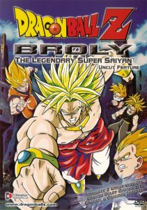 "Poster voor de film ""Dragon Ball Z: Broly - The Legendary Super Saiyan"""
