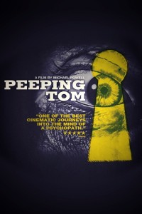 "Poster voor de film ""Peeping Tom"""