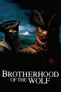 "Poster voor de film ""Brotherhood of the Wolf"""