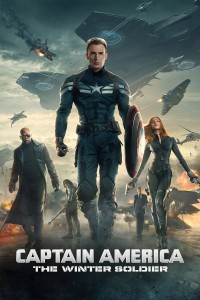 "Poster voor de film ""Captain America: The Winter Soldier"""