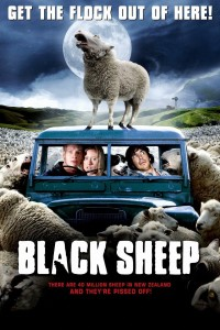 "Poster voor de film ""Black Sheep"""