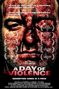 "Poster voor de film ""A Day Of Violence"""