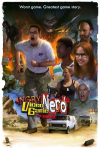 "Poster voor de film ""Angry Video Game Nerd: The Movie"""