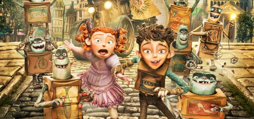 "Poster voor de film ""The Boxtrolls"""