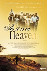 "Poster voor de film ""As It Is in Heaven"""