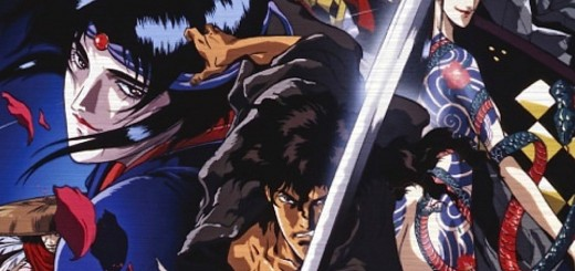 "Poster voor de film ""Ninja Scroll"""