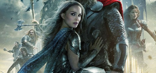 "Poster voor de film ""Thor: The Dark World"""