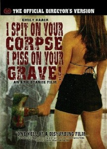 """Poster voor de film """"I Spit on Your Corpse, I Piss on Your Grave"""""""