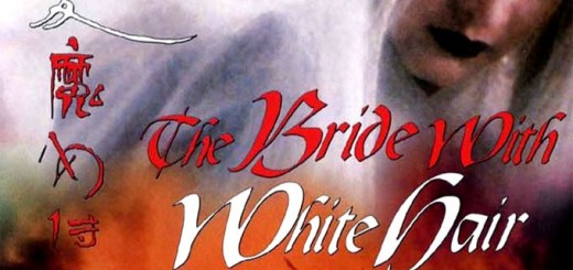 """Poster voor de film """"The Bride with White Hair"""""""