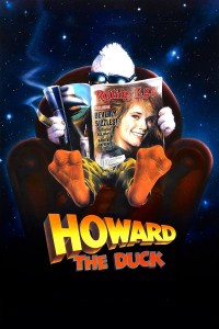 "Poster voor de film ""Howard the Duck"""