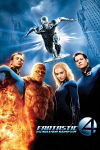 "Poster voor de film ""Fantastic 4: Rise of the Silver Surfer"""