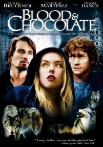 "Poster voor de film ""Blood and Chocolate"""
