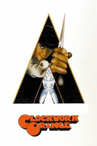 "Poster voor de film ""A Clockwork Orange"""