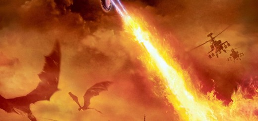 "Poster voor de film ""Reign of Fire"""