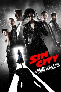 "Poster voor de film ""Sin City: A Dame to Kill For"""