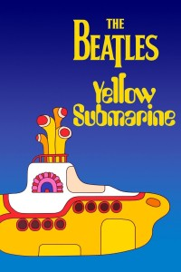 "Poster voor de film ""Yellow Submarine"""