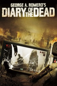 "Poster voor de film ""Diary of the Dead"""