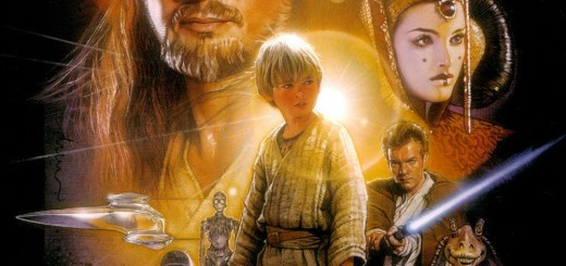 "Poster voor de film ""Star Wars: Episode I - The Phantom Menace"""