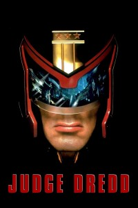 "Poster voor de film ""Judge Dredd"""