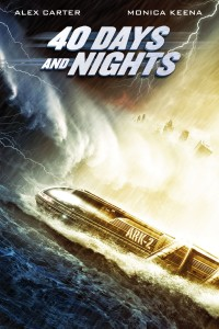 "Poster voor de film ""40 Days and Nights"""