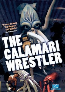 "Poster voor de film ""The Calamari Wrestler"""