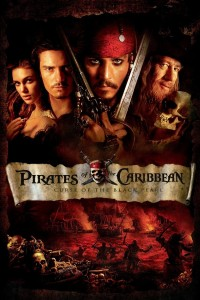 "Poster voor de film ""Pirates of the Caribbean: The Curse of the Black Pearl"""
