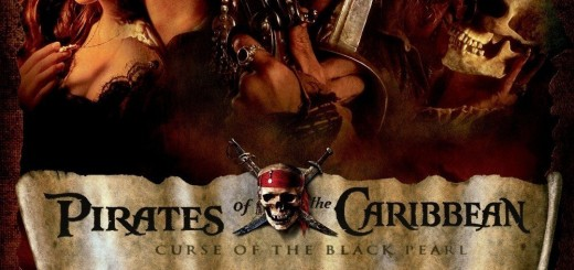 """Poster voor de film """"Pirates of the Caribbean: The Curse of the Black Pearl"""""""