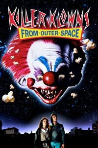 "Poster voor de film ""Killer Klowns from Outer Space"""