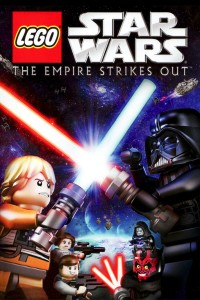 "Poster voor de film ""Lego Star Wars: The Empire Strikes Out"""