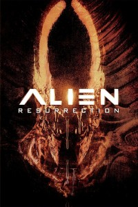 "Poster voor de film ""Alien: Resurrection"""