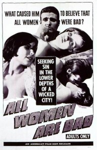 "Poster voor de film ""All Women Are Bad"""