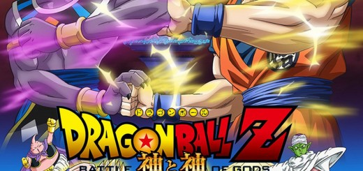 "Poster voor de film ""Dragon Ball Z: Battle of Gods"""