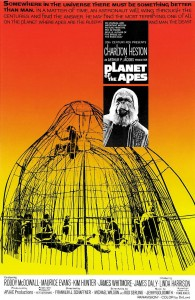 "Poster voor de film ""Planet of the Apes"""