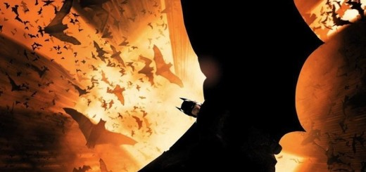 "Poster voor de film ""Batman Begins"""