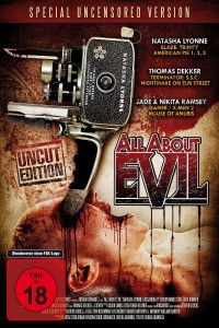 "Poster voor de film ""All About Evil"""
