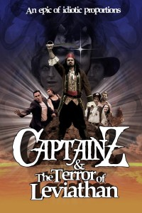 "Poster voor de film ""Captain Z & the Terror of Leviathan"""