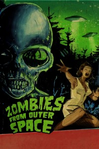 "Poster voor de film ""Zombies from Outer Space"""