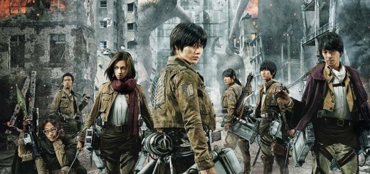 "Poster voor de film ""Attack on Titan"""