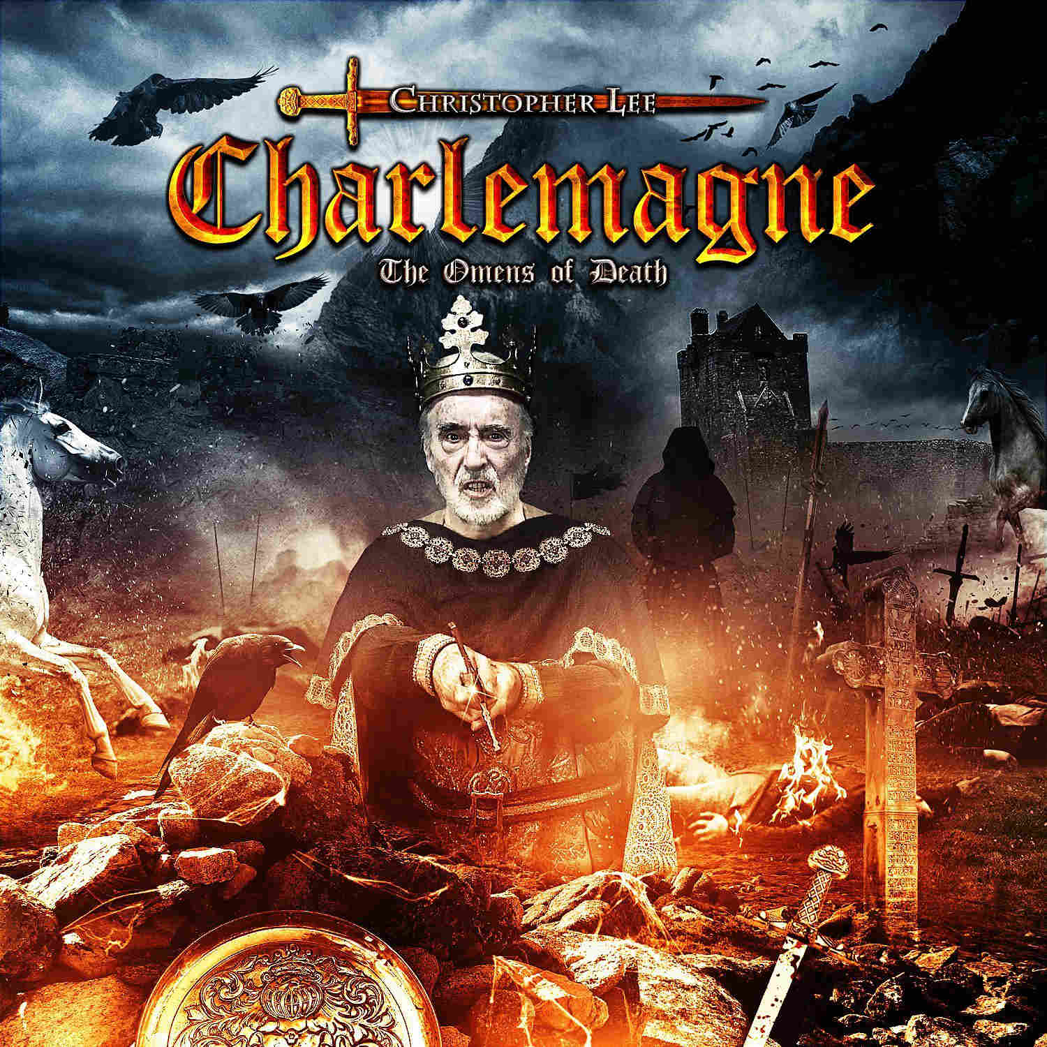Charlemagne - The Omens of Death Boek omslag