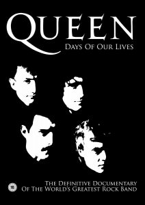 "Poster voor de film ""Queen: Days of Our Lives"""