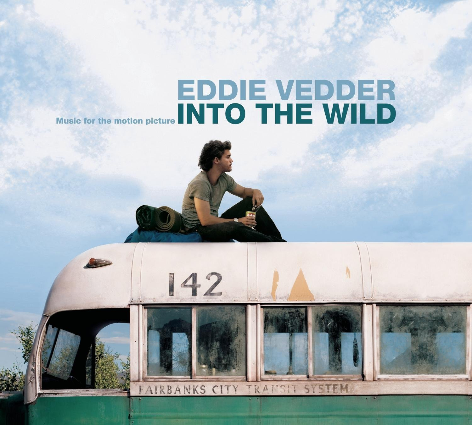 Eddie Vedder – Into the Wild (OST) Boek omslag