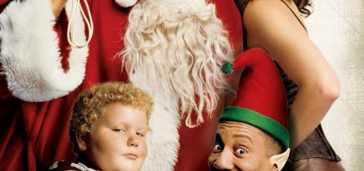 "Poster voor de film ""Bad Santa"""