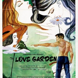 "Poster voor de film ""The Love Garden"""