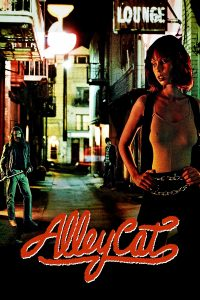 "Poster voor de film ""Alley Cat"""