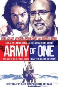 "Poster voor de film ""Army of One"""