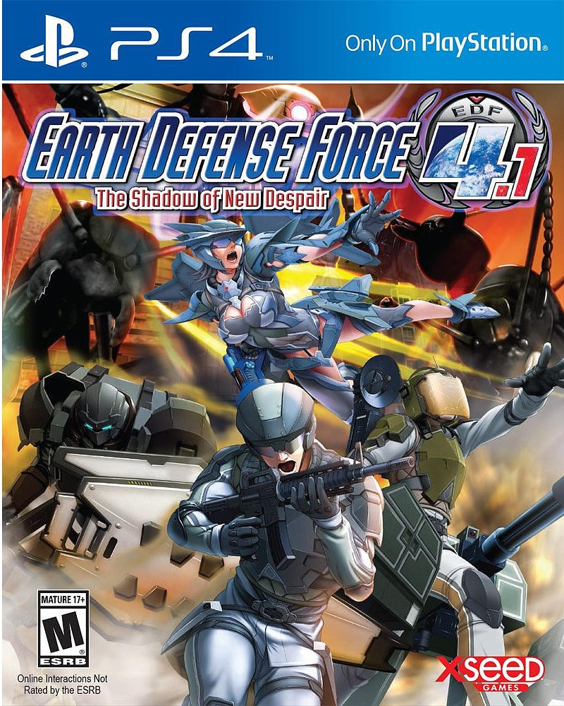 Earth Defense Force 4.1: The Shadow of New Despair Boek omslag