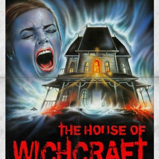 "Poster voor de film ""House Of Witchcraft"""