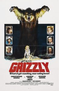 "Poster voor de film ""Grizzly"""