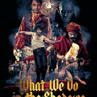 "Poster voor de film ""What We Do in the Shadows"""